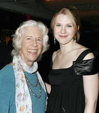 Frances Stern Hagen and Lily Rabe at the after party for the Heartbreak House debut.