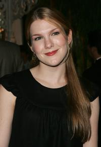 Lily Rabe at the 2006 Tony Honors for Excellence In the Theatre luncheon.
