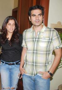 Arbaaz Khan and Guest at the