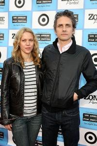 Britta Phillips and Dean Wareham at the Los Angeles Film Festival.