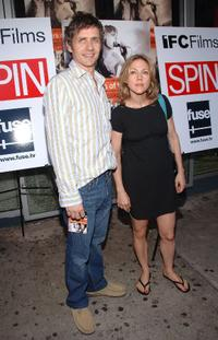 Dean Wareham and Britta Phillips at the premiere of