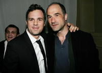 Elias Koteas and Mark Ruffalo at the screening after party of