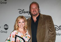 Leigh-Allyn Baker and Eric Allan Kramer at the Disney ABC Television Group's Summer TCA party.