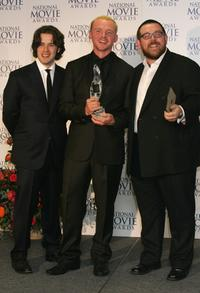 Edgar Wright, director Simon Pegg and Nick Frost at the National Movie Awards.