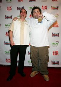 Jimmy Palumbo and Artie Lange at the premiere of