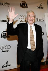 Martin Landau at the after party of the premiere of