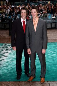 James Phelps and Oliver Phelps at the premiere of