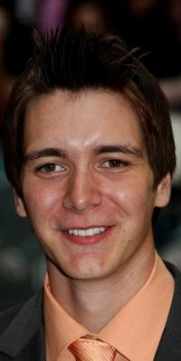 James Phelps at the UK premiere of
