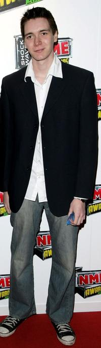 James Phelps at the Shockwaves NME awards.