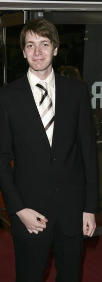 James Phelps at the world premiere of