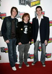 Oliver Phelps, Rupert Grint and James Phelps at the Shockwaves NME Awards.