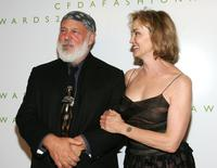 Jessica Lange and Bruce Weber at the 2006 CFDA Awards ceremony.