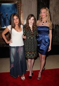Q'orianka Kilcher, Kay Panabaker and Joell Posey at the opening night of