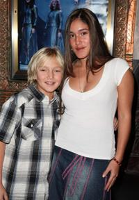 XiXi and Q'orianka Kilcher at the opening night of