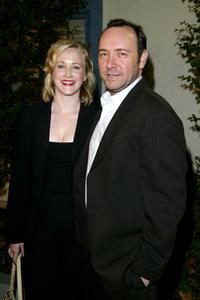 Katie Finneran and Kevin Spacey at the premiere of