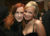 Katie Finneran and Kristin Chenoweth at the after party of the Broadway opening of