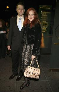 Will Kenny and Katie Finneran at the after party of the Broadway opening of
