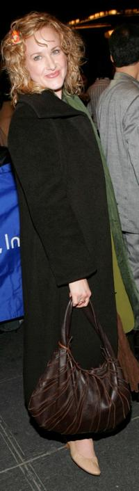 Katie Finneran at the opening night celebration of
