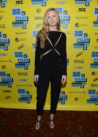 Brit Marling at the Texas premiere of
