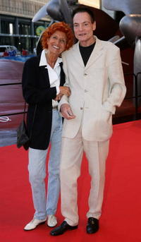 Dieter Laser and Guest at the German premiere of