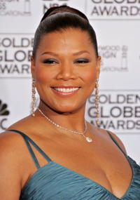 Queen Latifah at the 63rd Annual Golden Globe Awards.