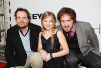 Xavier Palud, Chloe Moretz and David Moreau at the premiere of