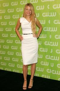Blake Lively at the CW Network Upfront.