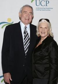 Dan Rather and Linda Lavin at the 7th Annual Women Who Care Luncheon.
