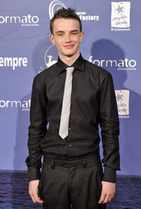 Alex Etel at the premiere of