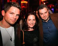 Brian Presley, Lauren Mays and Dal Walton at the After Dark HorrorFest 2007 kick off party.