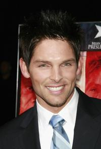 Brian Presley at the World premiere of
