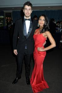 Toby Kebbell and Guest at the after party of