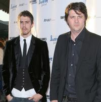 Toby Kebbell and Orian Williams at the west coast debut of