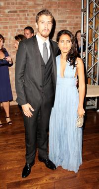 Toby Kebbell and Guest at the after party of the UK premiere of
