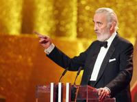 Christopher Lee at the ceremony of the Women's World Awards 2005.