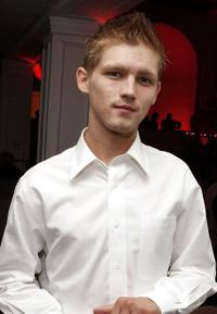 Evan Ellingson at the CW/Showtime/CBS Television TCA Party.