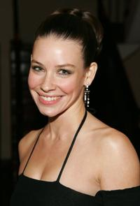 Evangeline Lilly at the intimate dinner hosted by Chanel and Sienna Miller in honor of Les Exclusifs de Chanel.