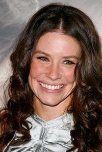 Evangeline Lilly at the Paris premiere of