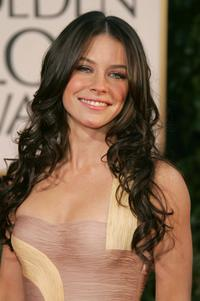 Evangeline Lilly at the 64th Annual Golden Globe Awards.