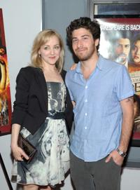 Geneva Carr and Jake Hoffman at the premiere of