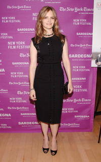 Actress Jennifer Jason Leigh at the N.Y. premiere of
