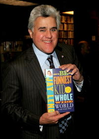 Jay Leno at the launch of his new book