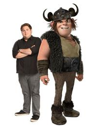 Jonah Hill voices Snotlout in