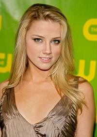 Amber Heard at the CW Network Winter TCA Party.