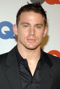 Channing Tatum at GQ Magazine's 50th Year Celebration party in N.Y.