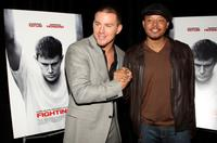 Channing Tatum and Terrence Howard at the premiere of