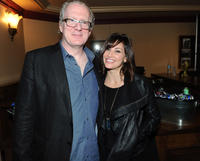 Tracy Letts and Gina Gershon at the U.S. premiere of