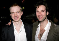 Roderick Hill and Hugh Panaro at the after party of the opening night of