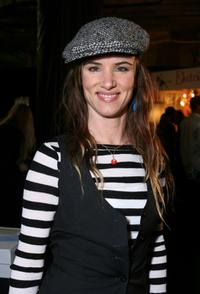 Juliette Lewis at the Retreat Premier Gift Lounge At Super Bowl XLII.