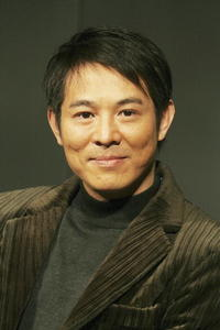 Jet Li at a Tokyo news conference for